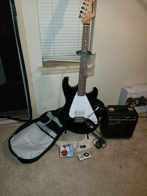 First Act Electric Guitar with Carrying Bag, Strings and Tuner for Sale in Renton, WA