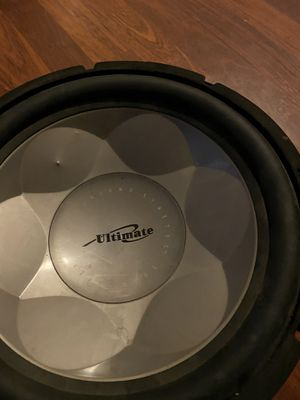 Ultimate subwoofer for Sale in Bakersfield, CA