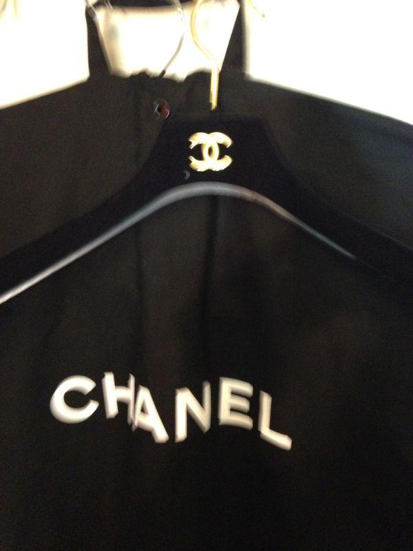 Chanel garment bag