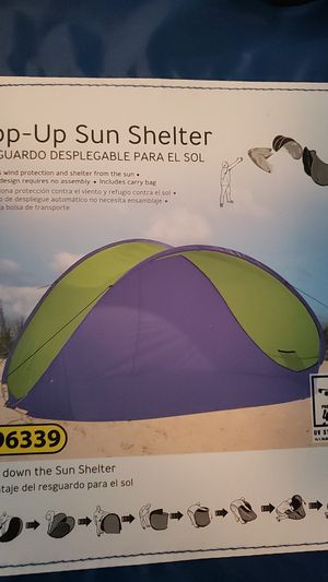 Pop up Sun shelter brand new for Sale in Fort Worth, TX