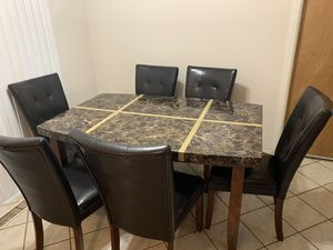 Dining set w/chairs for Sale in Willingboro, NJ