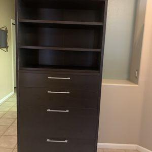 Bookshelf/File Cabinet for Sale in Peoria, AZ
