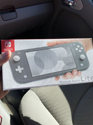Nintendo Switch Lite - Gray (BRAND NEW) for Sale in Columbus, OH