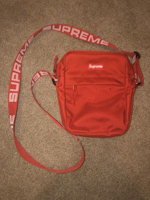 Supreme red shoulder bag SS18 for Sale in Vancouver, WA