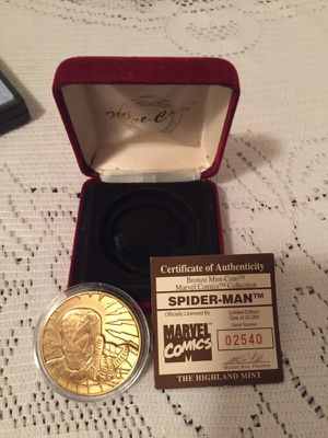Spider-Man coin for Sale in Houston, TX