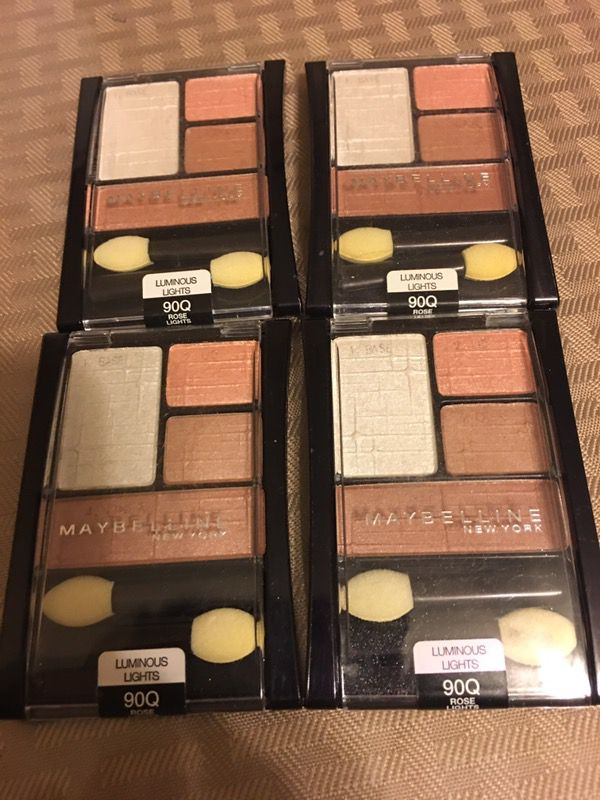 4 New maybelline Eyeshadow