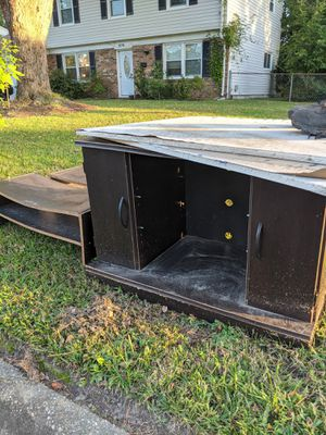 Wooden Cabinet and racks FREE for Sale in Virginia Beach, VA