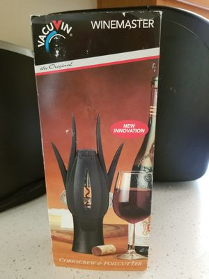 Wine Dispenser and Coorkscrew for Sale in Phoenix, AZ
