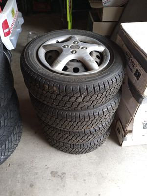 4 snow tires and 4 rims for Sale in Vancouver, WA