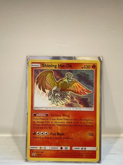 Shining Ho-Oh SM70 Promo HoloFoil Rare Holo Pokémon Card for Sale in Hollywood,  FL
