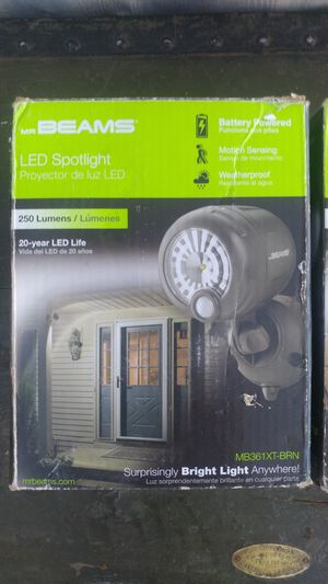 Battery operated security motion lights for Sale in Payson, AZ