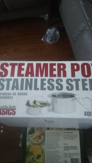 Steamer pot stainless steel for Sale in Chicago, IL