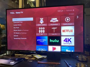 "TCL 55"" 4K UHD HDR ROKU SMART TV for Sale in Aloma, FL"