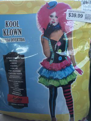 NEW Kool Klown Halloween costume - Junior Medium size for Sale in San Fernando, CA