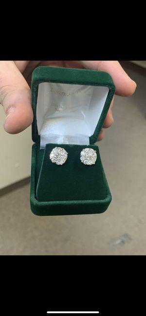2.60 ct Diamond Stud Earrings for Sale in Boston, MA