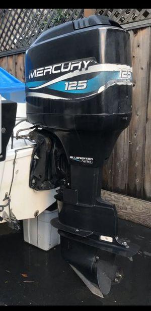 Outboard motor 125 Hp.. Mercury 1999.. 2 stroke.. for Sale in Fremont, CA