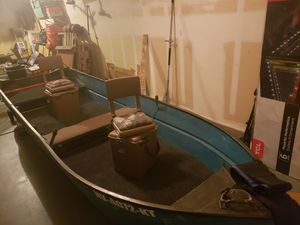14ft Aluminum boat seats not included. No title will do a bill of sale for Sale in Henderson, NV