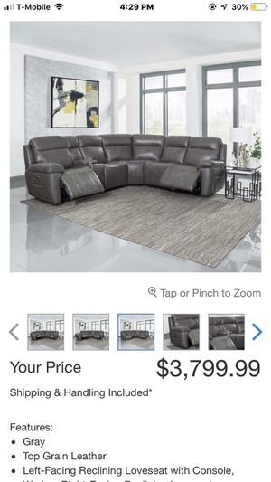 Sectional couch. for Sale in Queen Creek, AZ