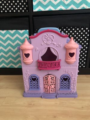 Mini travel Doll house castle for Sale in Irvine, CA