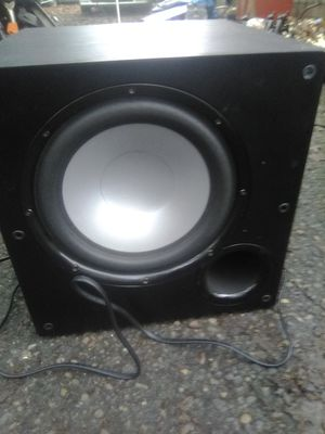"Polk audio 10"" home theatre subwoofer for Sale in Hillsboro, OR"