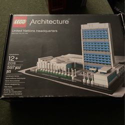 Lego Architecture Series United nations headquarters for Sale in Milpitas,  CA
