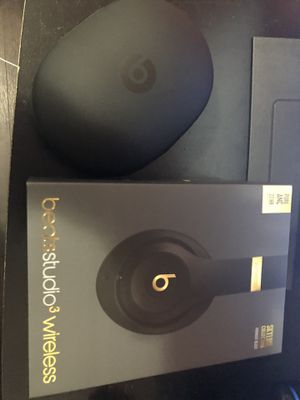 Beats Studio 3 Skyline Edition (Midnight Edition) for Sale in Hollywood, FL