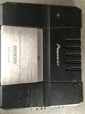 Pioneer amp 800 W (mono) for Sale in Westchester, IL