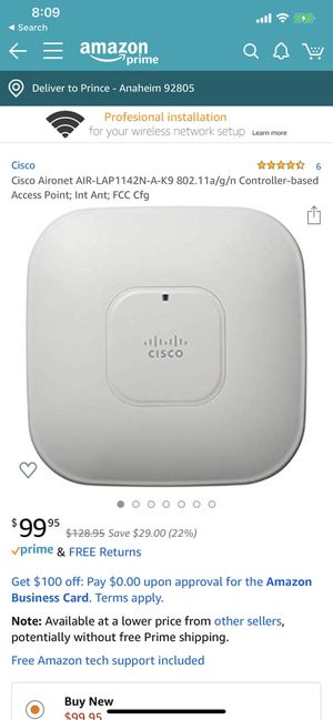 Cisco AP WiFi Router for Sale in Anaheim, CA