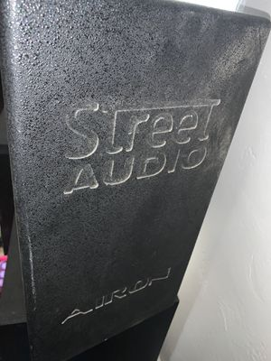 Street audio Airon PA speaker set up with ASS acoustic pro sub. for Sale in Glendale, AZ