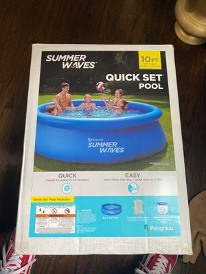Summer waves quick set pool for Sale in Annandale, VA