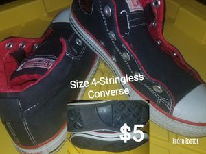 SIZE 4 CONVERSE for Sale in Raleigh, NC
