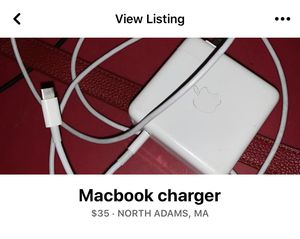 Macbook Charger for Sale in North Adams, MA