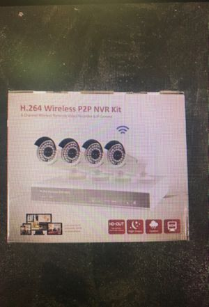 H.264 Wireless P2P NVR Kit 4-channel wireless network video recorder. for Sale in Tacoma, WA