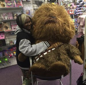 life-size Chewbacca plushy for Sale in Washington, DC