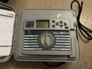 Hunter i-core IC-600-PL sprinkler controller industry grade for Sale in Chino, CA