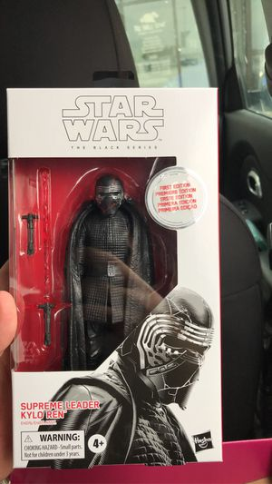 Kylo ren black series first edition for Sale in Pflugerville, TX