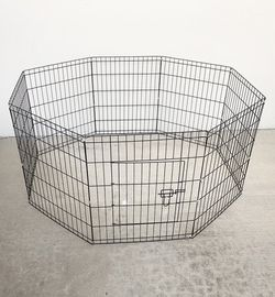 """New in box $35 Foldable 30"""" Tall x 24"""" Wide x 8-Panel Pet Playpen Dog Crate Metal Fence Exercise Cage Play Pen for Sale in El Monte,  CA"""