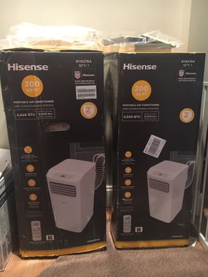 Air Conditioners - 2 Portable Units - $270 each OBO for Sale in Pemberton, NJ