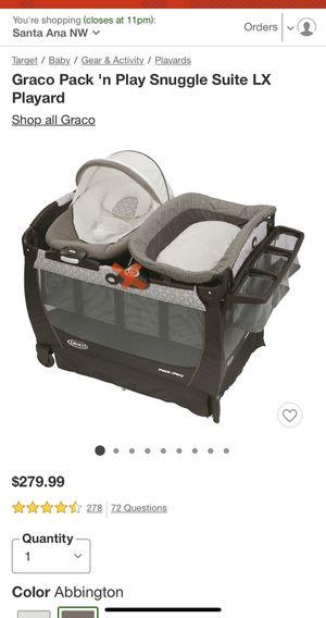 Baby GRACO Pack n Play for Sale in Santa Ana, CA