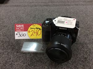 Sony dslr-a100 digital camera for Sale in Kenmore, WA