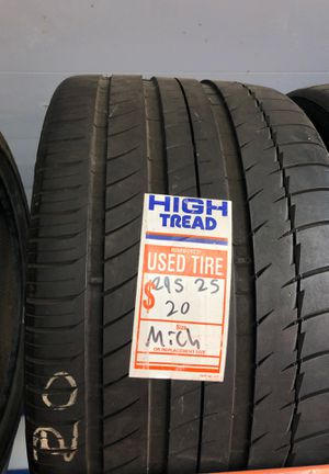 295/25/20 Michelin tire for Sale in Los Angeles, CA