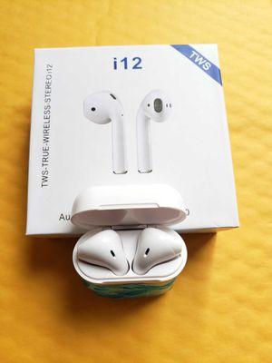 NEW! TWS i12 Bluetooth 5.0 Headset Wireless Headphones Earbuds Earphones for Sale in Kent, WA