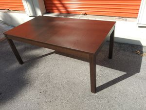 Like new ikea dining table with leaf for Sale in Nashville, TN