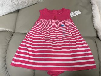 NEW W/TAGS CHILDRENS PLACE 0-3M OR 3-6M COTTON DRESSES for Sale in Chesapeake,  VA
