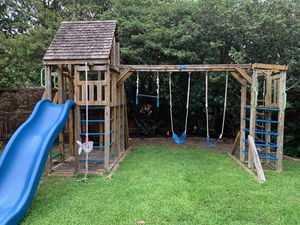 Swing Set / Playground by CedarWorks for Sale in Bellaire, TX