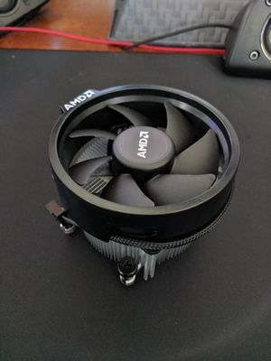 Wraith spire cooler AM4 Ryzen cooler gaming computer part for Sale in Lomita, CA