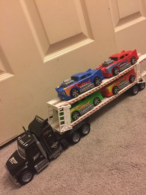 Truck with towing trailer and cars for Sale in Stockton, CA