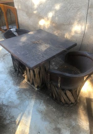 2 outdoor dining tables 6 chairs for Sale in Escondido, CA