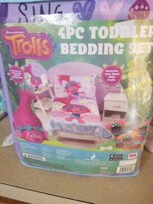 Trolls toddler bed set for Sale in De Leon Springs, FL