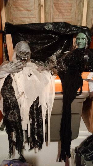 Halloween Ghoul and Witch for Sale in Martinsburg, WV